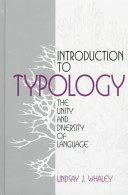 Intro to Typology