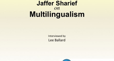 Jaffer Sharief on Multilingualism