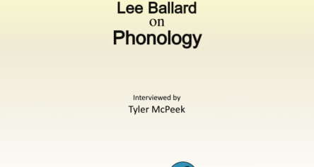 Lee Ballard on Phonology