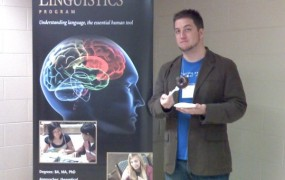 FLA President, Tyler McPeek, at Purdue University for PLA 2010 Conference