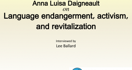 Anna Luisa Daigneault from Living Tongues Institute